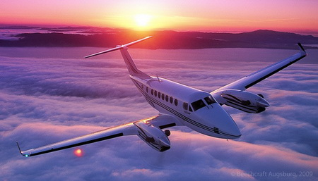 King Air 350 Aussen
